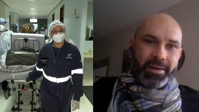 De Vlaamse arts Gert Verdonck vertelt aan HLN LIVE over wat hij meemaakte in Brazilië.