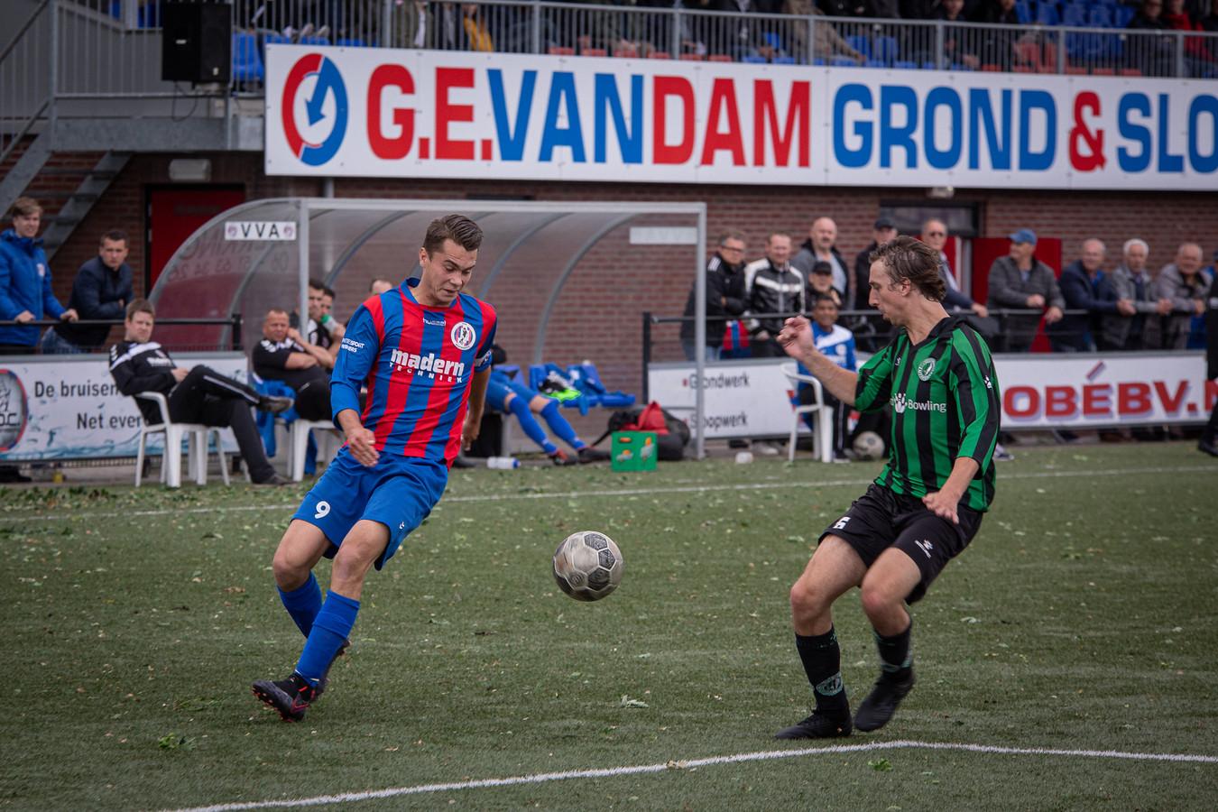 VVA Achterberg speelt zaterdag in en tegen Veenendaal voor de beker.