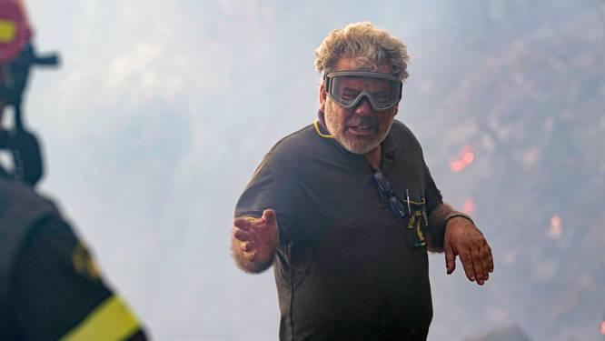Bosbranden blijven Sardinië teisteren: al duizenden hectare land afgebrand