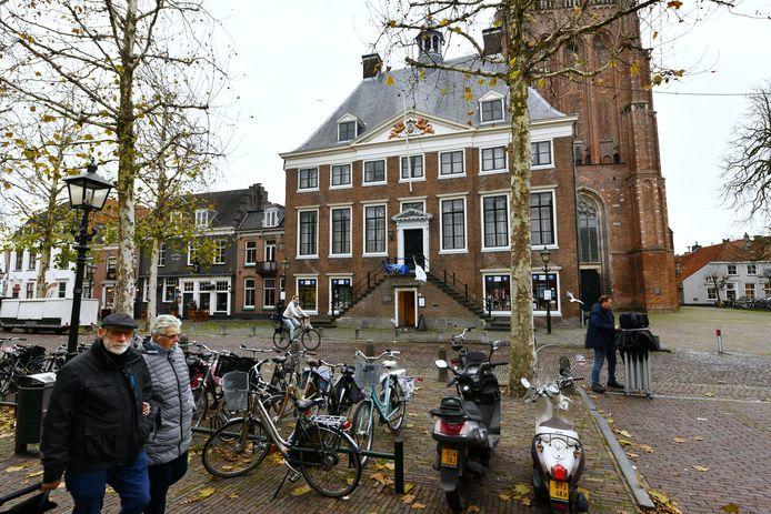 Wikj bij Duurstede Oude Stadhuis in het centrum van Wijk.Foto William Hoogteyling