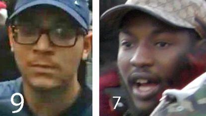 Deze 9 relschoppers zijn 'most wanted' voor de rellen in Brussel