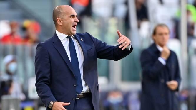"""Roberto Martínez enorm streng voor wedstrijdleiding na verlies tegen Italië: """"Scheids was niet klaar voor dit niveau"""""""
