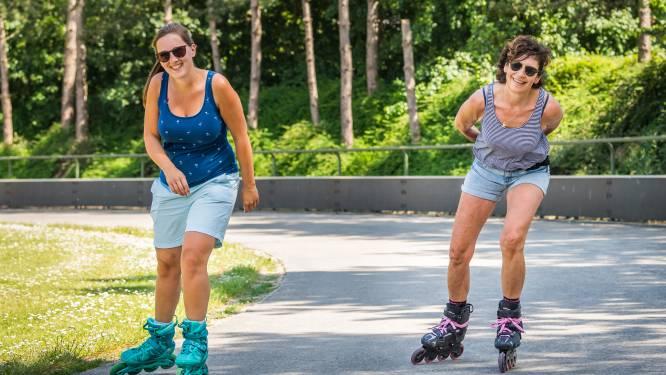 """Inline skaten hipper dan ooit: """"Je sport en tegelijkertijd kan je genieten van de natuur én een babbeltje op afstand"""""""