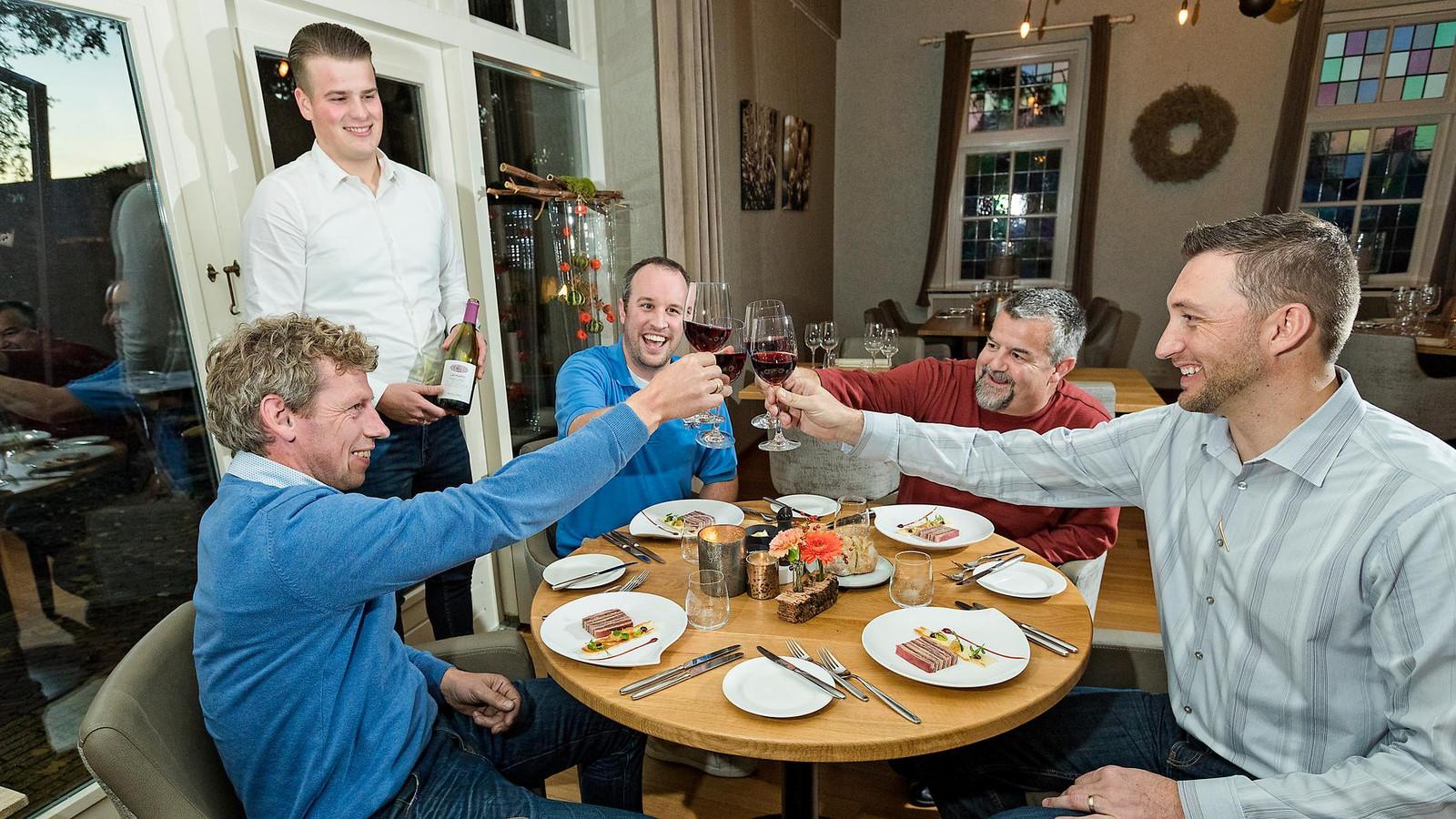 Restaurant Akkeroord in Waddinxveen is blij met hun vermelding in de LEKKER Top 500.