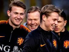 Koeman: 'Het is jammer dat De Ligt bij Juventus speelt en niet bij Barcelona'