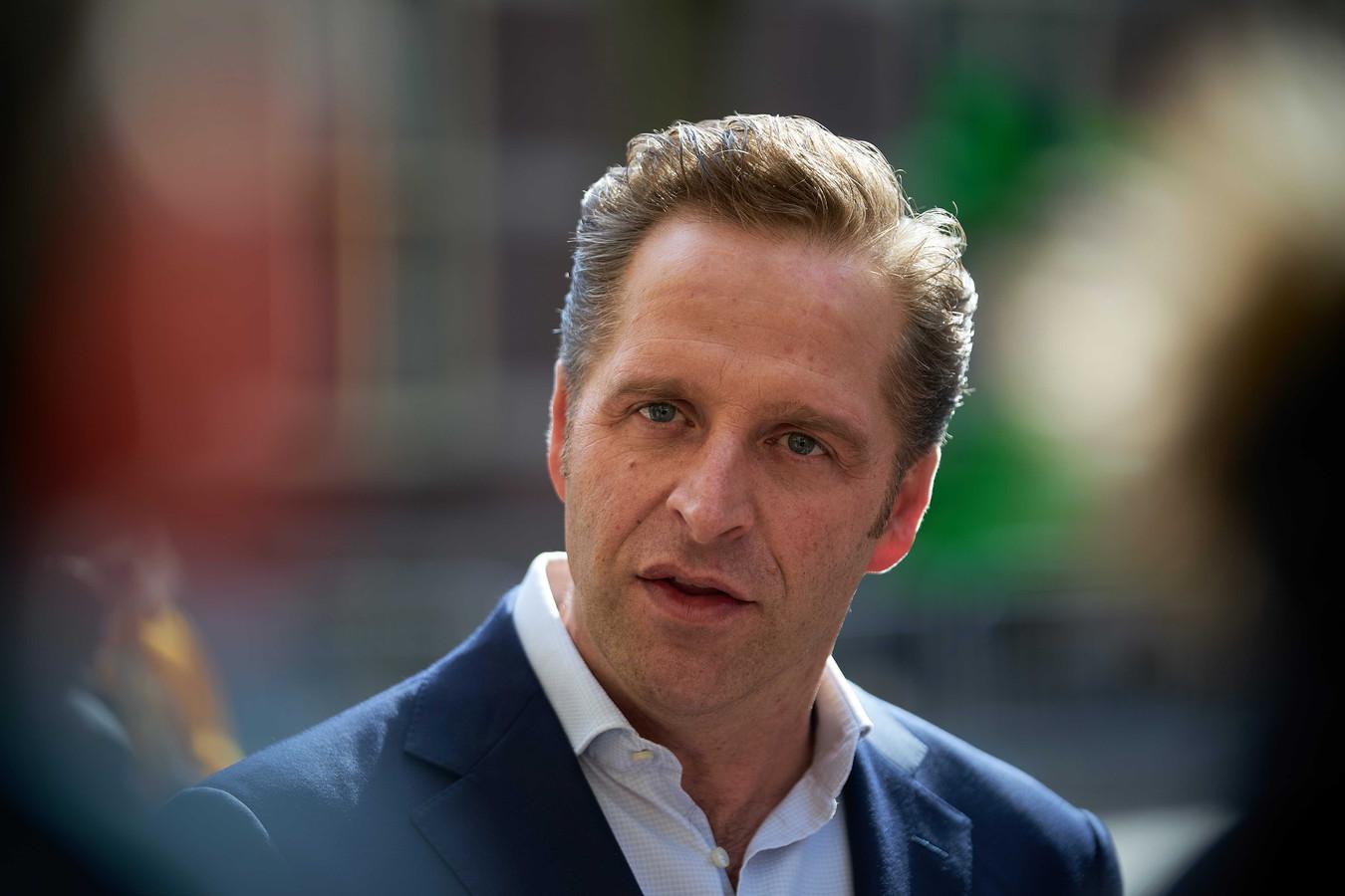 Demissionair minister Hugo de Jonge van Volksgezondheid, Welzijn en Sport.