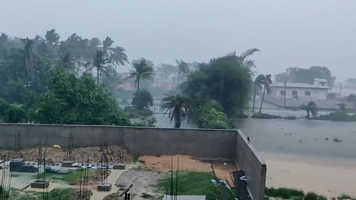 Bhadrak, dans l'État oriental de l'Odisha, ce mercredi.