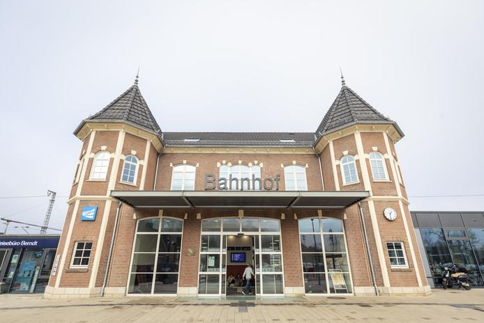Het station van Bad Bentheim.