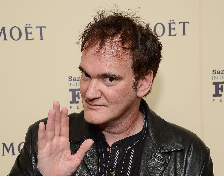 Quentin Tarantino Beeld WireImage