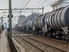 Plan voor meer giftreinen over spoor