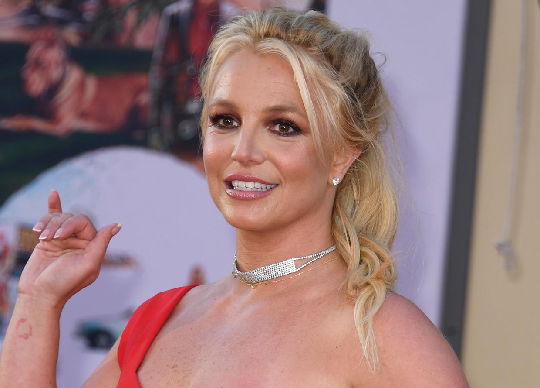 Popster Britney Spears.