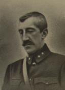 Paul Lippens, als onderluitenant van de genie, kort voor zijn dood.