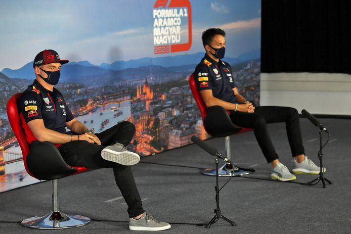 Teamgenoten Max Verstappen en Alexander Albon waren het met elkaar eens. Slechts één vrije training op Imola is te weinig.