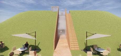 Doorbraak in Fort Buitensluis biedt looproute door meters dikke historie richting Hollands Diep