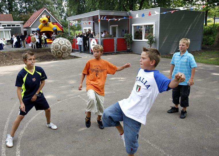 Kinderen op de buitenschoolse opvang in Driemond Beeld ANP