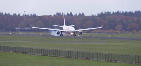 Portugese Airbus A330 landt op Twente Airport