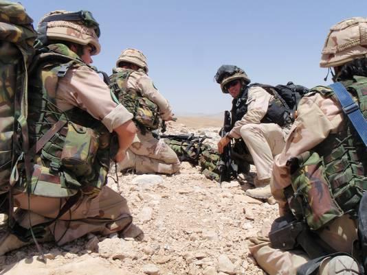 Op werkbezoek met mariniers in talibangebied