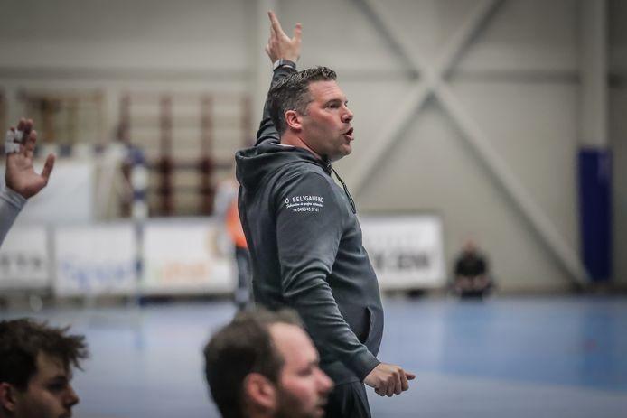 Korneel Douven T1 van HC Visé wil zaterdag graag de bekerfinale winnen van Bocholt.