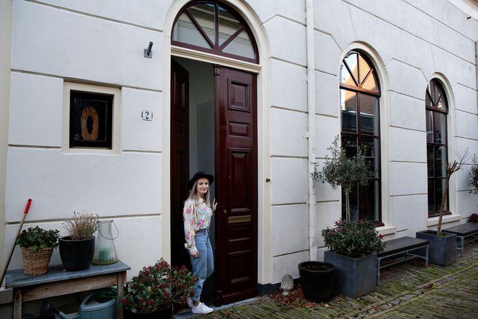 Het exterieur van de woning van Merel Vonk en Pieter Korevaar.