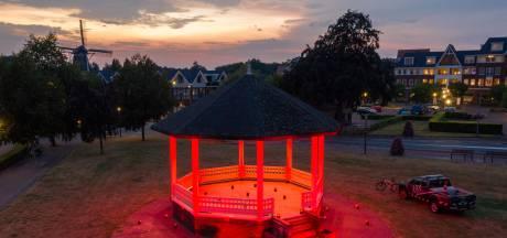 Ook de muziektent in Ermelo kleurt rood voor de evenementenbranche: 'Mensen weten niet wie we zijn'
