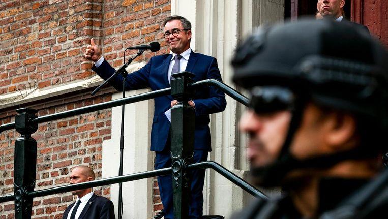 Burgemeester Jos Wienen van Haarlem. Beeld anp