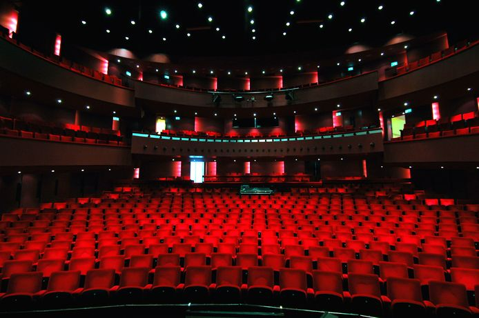 Theaterzaal Tilburg.