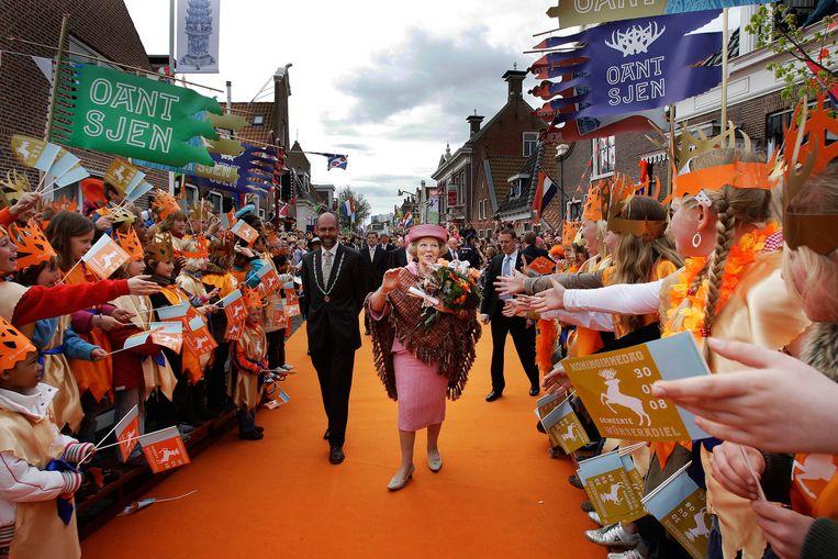 Koningin Beatrix in 2008. Beeld anp