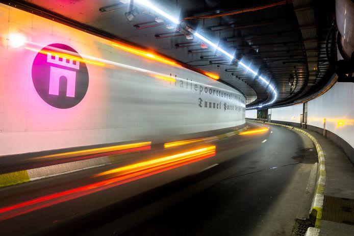 Le tunnel Porte de Hal vient d'être rénové. Et il dispose désormais d'un radar-tronçon.