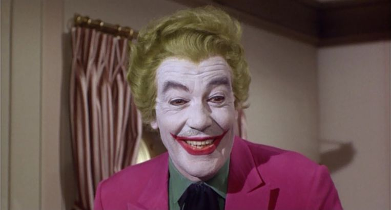 Cesar Romero als Joker in de tv-serie Batman Beeld