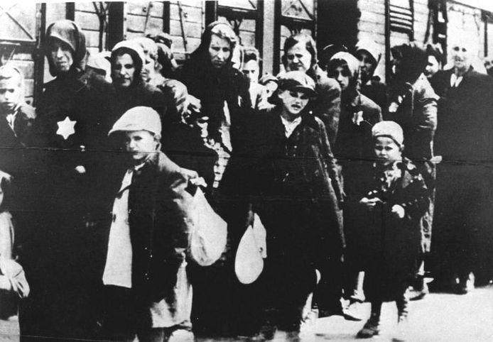 Deportatie van joden. Foto: ANP