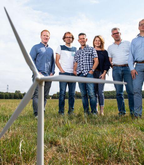 Boerderij in Ambt Delden van mede-initiatiefnemers twee hoge windmolens niet meer rendabel? Hoezo?