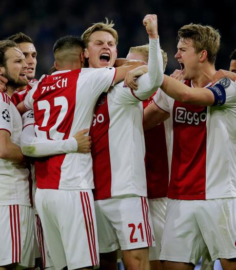 Ajax heeft nog maar 3 goals nodig voor 'all-time-doelpuntenrecord'