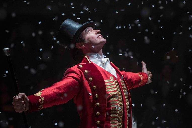 Hugh Jackman in 'The greatest showman'