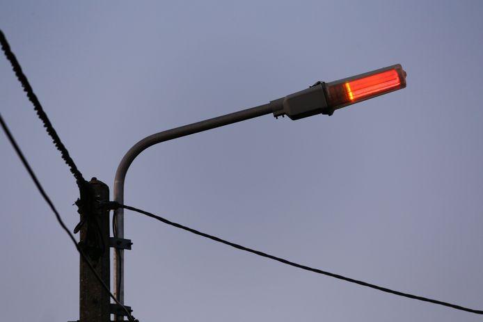 Éclairage public à Charleroi