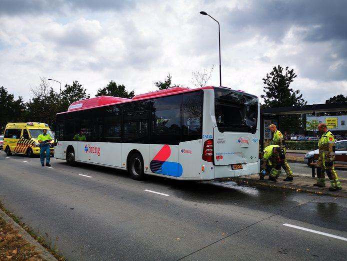 De andere bus.
