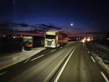 Truckers verlangen naar een veilige parkeerplaats bij Geldermalsen en willen daarvoor betalen