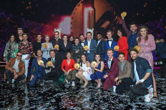 De winnaars van de Gouden K's.