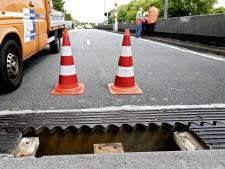 Zwakke bruggen A44 voorlopig niet vervangen