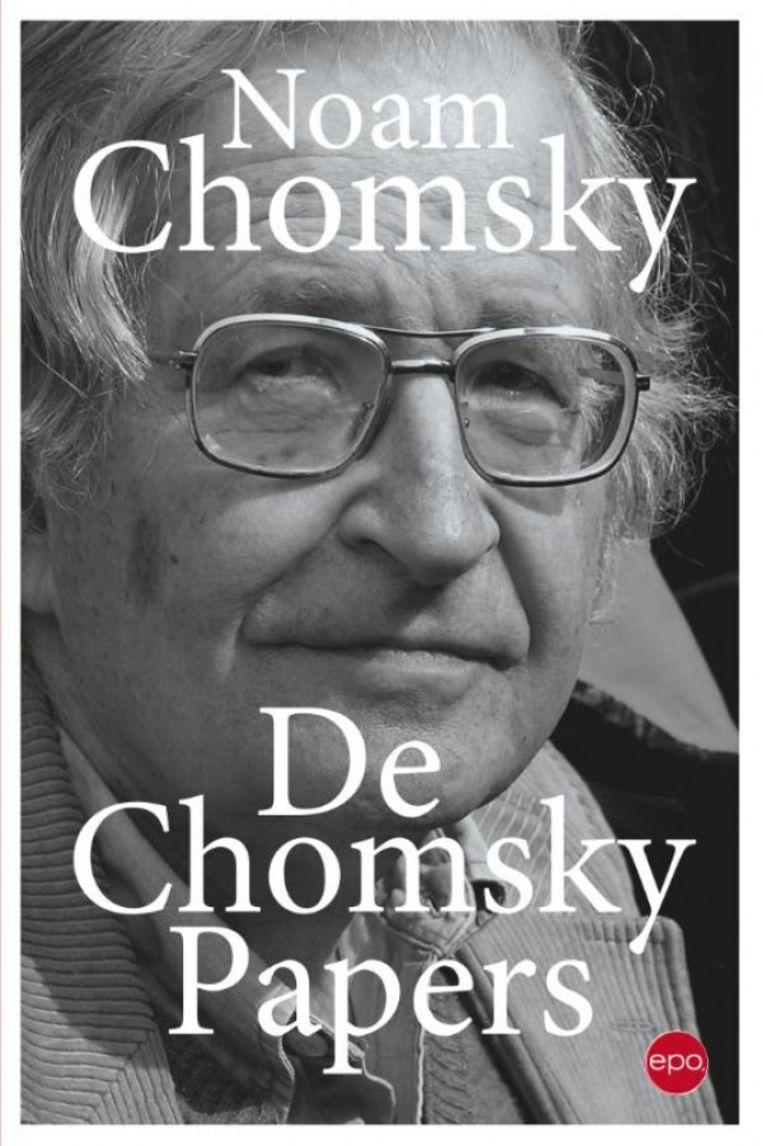 Noam Chomsky, De Chomsky Papers, EPO, 352 p., 24,95 euro. Beeld RV