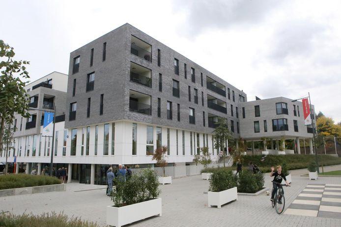 Het administratief centrum in Zoutleeuw.