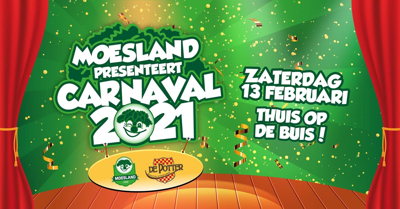 Carnaval 2021 in Moesland
