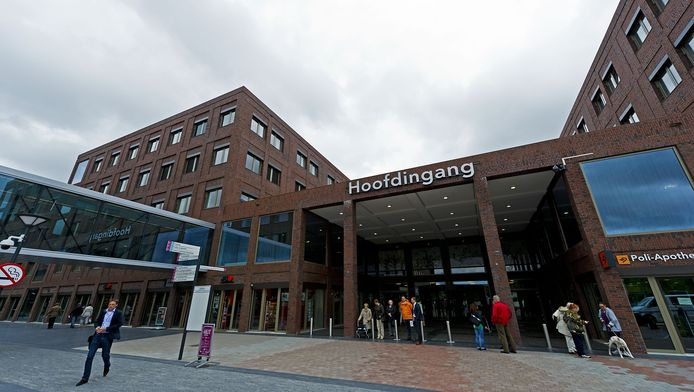 Hoofdingang van het Maasstad ziekenhuis.