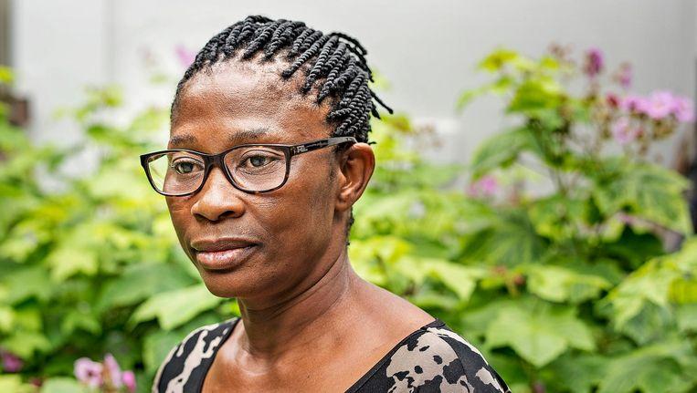Esther Kiobel, nabestaande van de 'Ogoni 9'. Beeld Guus Dubbelman / de Volkskrant
