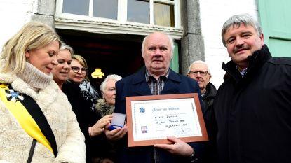 Michel was 50 jaar geleden Pauwel in Galmaarden