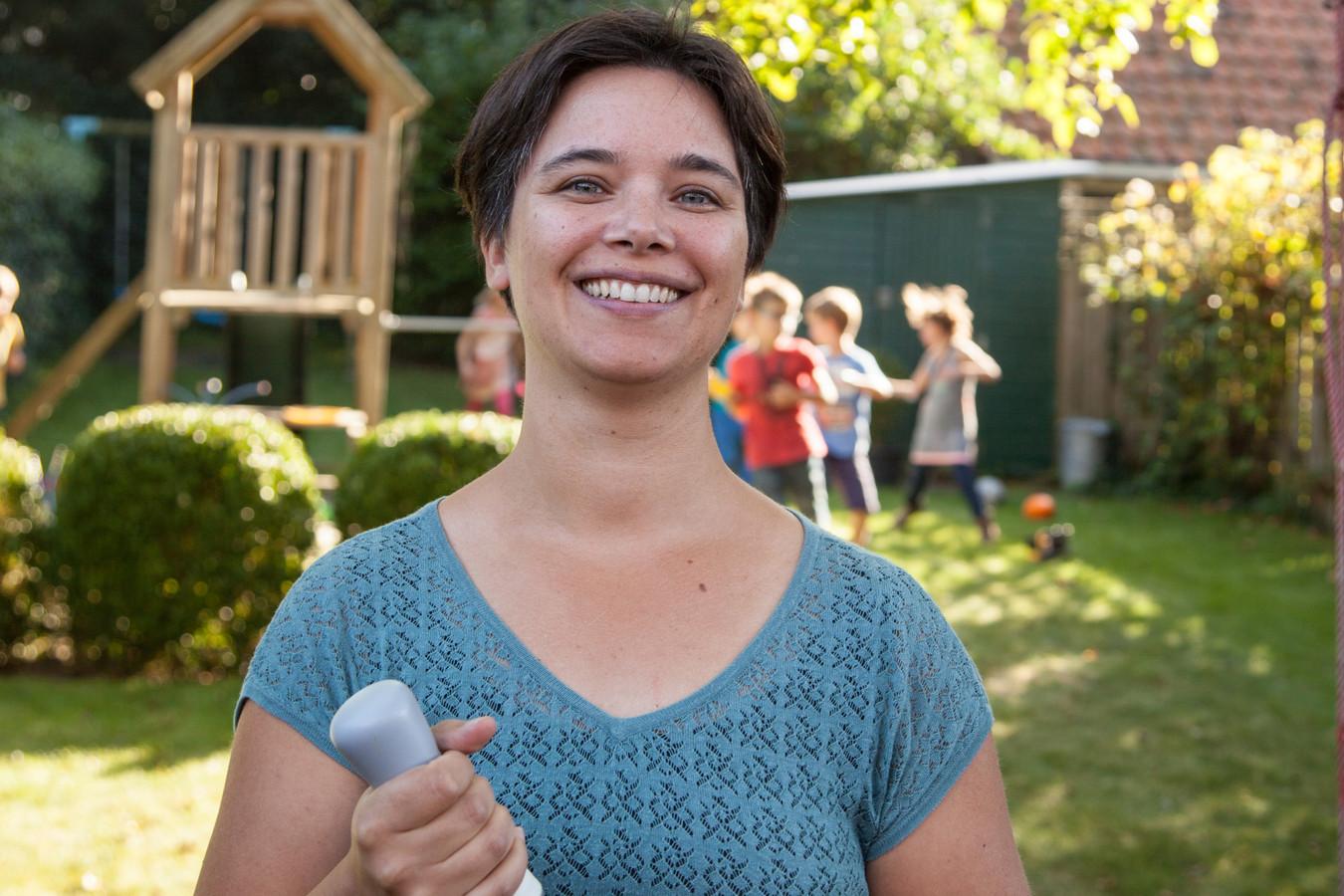 Iris Stoute, mede-oprichter van buitenspel gameconsole Picoo