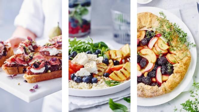 Bruschetta met vijgenchutney of salade met gegrilde nectarines: 3 recepten voor een zoete nazomer