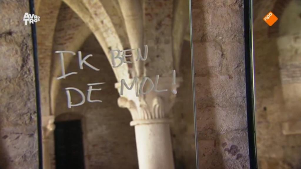 Een handtekening van de Mol.