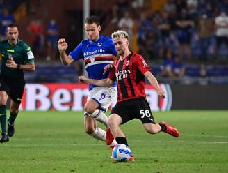 AC Milan en Saelemaekers starten seizoen met winst tegen Sampdoria