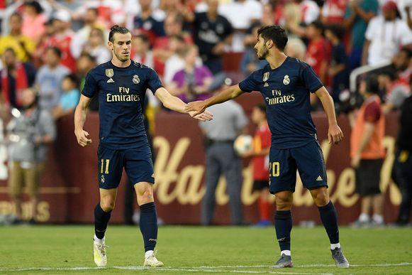 Gareth Bale en Marco Asensio.