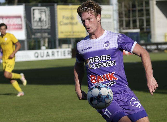Enzo Vandekerckhove kan met zijn snelheid het verschil maken.